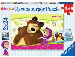 Ravensburger Mása és a medve - Masha and the Bear 2x24db-os (090464)
