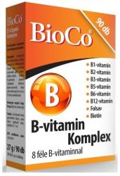 BioCo B-vitamin komplex tabletta (90db)