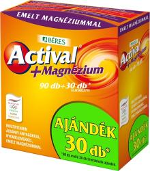 BÉRES Actival+ Magnézium filmtabletta 90+30db (120db)