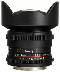 Samyang 14mm T3.1 ED AS IF UMC VDSLR (Sony E)