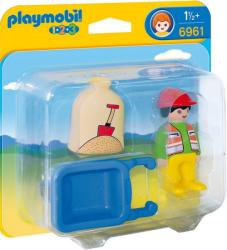 Playmobil Munkás talicskával (6961)