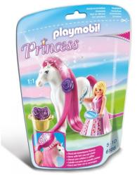 Playmobil Rózsaszín hercegnő paripával (6166)