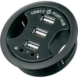 Goobay 3 Port USB 2.0-Hub+Audio