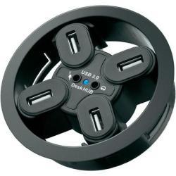 Goobay 4 Port USB 2.0-Hub+Audio
