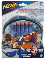 Hasbro NERF N-Strike Elite védőszemüveg és 5 db lőszer