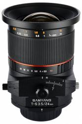 Samyang 24mm f/3.5 ED AS UMC Tilt-Shift (Sony E)