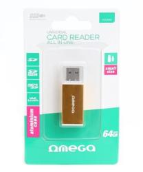 Omega Universal Card Reader USB 2.0 ALU (OUCRA)