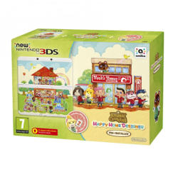 Nintendo New Nintendo 3DS Animal Crossing Happy Home Designer Bundle