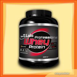 All Sports Labs Professional Whey Protein - 2000g