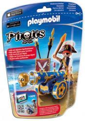 Playmobil Kalóz kék ágyúval (6164)