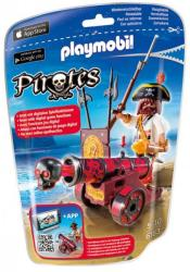 Playmobil Kalóz piros ágyúval (6163)