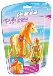 Playmobil Szőke hercegnő paripával (6168)