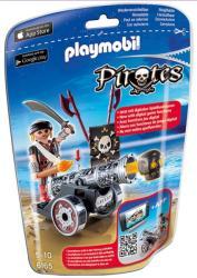 Playmobil Kalóz fekete ágyúval (6165)