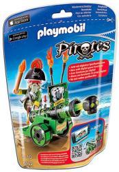 Playmobil Kalóz zöld ágyúval (6162)