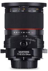 Samyang 24mm f/3.5 ED AS UMC Tilt-Shift (Canon M)