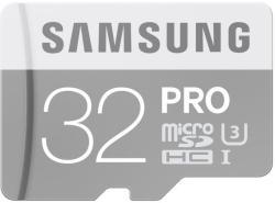 Samsung Pro microSDHC 32GB UHS-I U3 MB-MG32E/EU