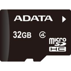 ADATA MicroSDHC 32GB Class 4 AUSDH32GCL4-R
