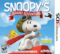 Activision The Peanuts Movie Snoopy's Grand Adventure (3DS)