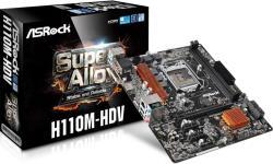 ASRock H110M-HDV
