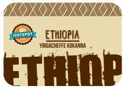 HotSpot Coffee Ethiopia Yirgacheffe Kokanna Microlot 1kg