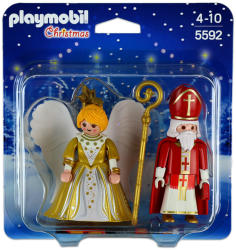 Playmobil Sfântul Nicolae şi Îngerul Crăciunului (5592)