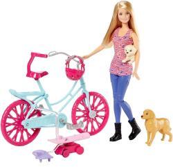 Mattel Barbie és húgai - A kutyusos kaland - Barbie kis kedvenceivel (CLD94)