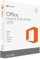 Microsoft Office 2016 Home & Business for Mac W6F-00627