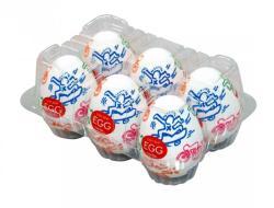 TENGA Keith Haring - Egg Street Variety maszturbátor (6db)