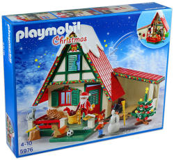 Playmobil Moş Crăciun şi căminul lui din Polul Nord (5976)
