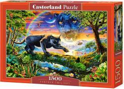 Castorland Párduc a félhomályban 1500 db-os (C-151356)