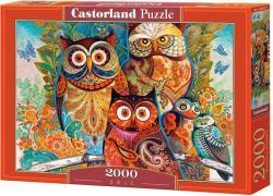 Castorland Baglyok 2000 db-os (C-200535)