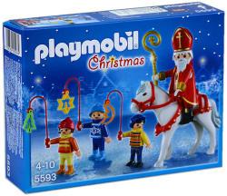 Playmobil Sfântul Nicolae şi copii însoţitori (5593)