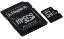 Kingston microSDHC 32GB C10/UHS-I SDC10G2/32GB