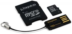 Kingston microSDHC 32GB Class 10 Multi kit/Mobility Kit (MBLY10G2/32GB)
