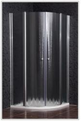 ARTTEC SMART 90x90x185 cm STONE zuhanytálcával íves (PAN00968)