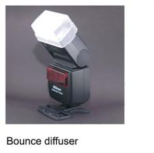 Phottix Bounce Diffuser pt Nikon SB-600, Canon 420EX