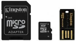 Kingston MicroSDHC 8GB Class 10 Multi Kit/Mobility Kit (MBLY10G2/8GB)