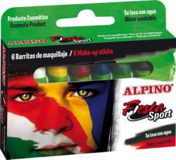Alpino Creioane machiaj, 6 culori/cutie, ALPINO Sport (MS-DL000011) - viamond
