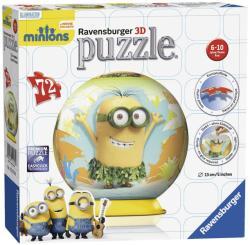 Ravensburger 3D gömb puzzle - Minyonok 72 db-os (12170)