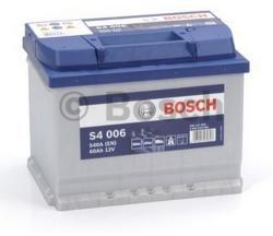 Bosch S4 60Ah EN 540A Borna inversa (0092S40060)
