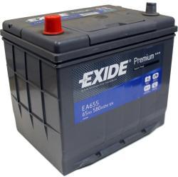 Exide Premium 65Ah EN 580A Borna inversa EA655