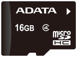 ADATA MicroSDHC 16GB Class 4 + Reader AUSDH16GCL4-ROTGMBK