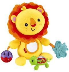 Fisher-Price Készségfejlesztő, foglalkoztató plüss oroszlán (CGN89)
