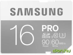 Samsung PRO SDHC 16GB Class 10 U3 MB-SG16E/EU