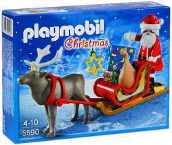Playmobil Sania lui Moş Crăciun cu reni (5590)