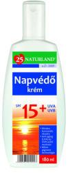 Naturland Napvédő krém SPF 15 180ml