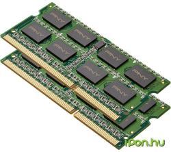 PNY 8GB (2x4GB) DDR3 1600MHz MN8GK2D31600-Z
