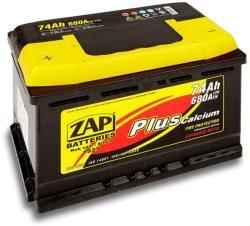ZAP Plus 74Ah 680A Bal+