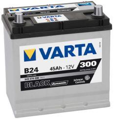 VARTA B24 Black Dynamic 45Ah 300A Bal+ Ázsia (545 079 030)