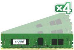 Crucial 16GB (4x4GB) DDR4 2133MHz CT4K4G4RFS8213